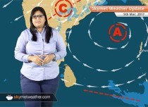 Weather Forecast for March 5: Light rain in Chennai, Bangalore, Kolkata