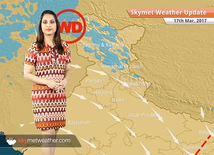 Weather Forecast for March 17: Dry weather in Northwest Plains, Rain in South India
