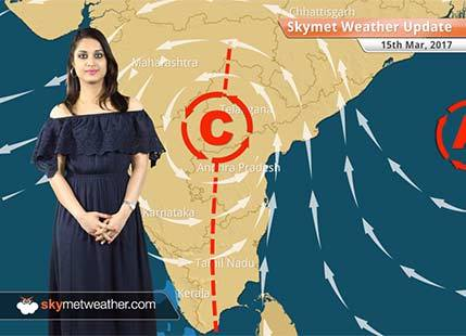 Weather Forecast for March 15: Rain in Bangalore, Dry weather in Northwest India