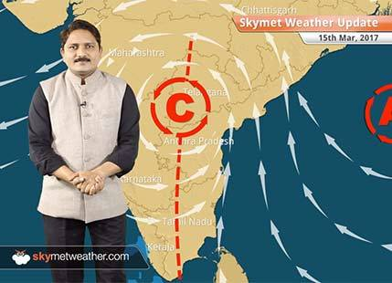 Weather Forecast for March 15: Rain in TN, Kerala; dry weather in Northwest India