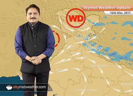 Weather Forecast for March 16: Fresh spell of rain and snow over northern hills