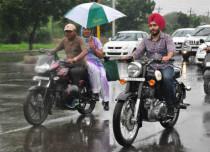 Thundering activity to bring rain over Punjab, Haryana