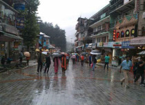 Intermittent Rainfall to continue over Hills of North India