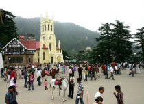 Shimla Hot Weather 2