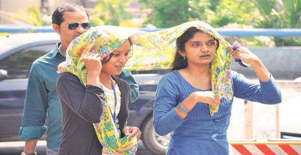 Delhi hot days