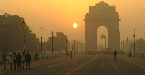 Delhi sunrise-at-india-gate_The Holiday India 600