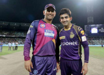 IPL 2017, RPS vs KKR: Dhoni and Gambhir clash in warm Pune