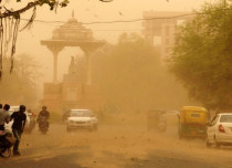 Dust-storm Rajasthan