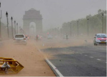 Dust storm in Delhi