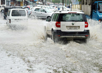 Jammu and Kashmir Heavy rain