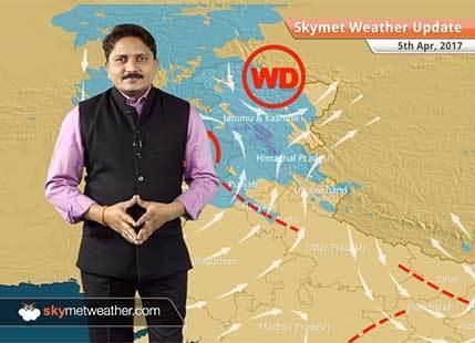 Weather Forecast for April 5: Rain in Punjab, Delhi, Haryana, Kashmir, relief from heatwave
