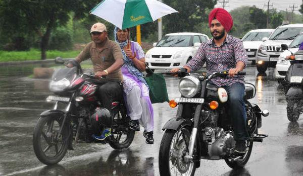 Rains lash Chandigarh and surrounding areas