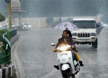 Rain in Punjab, Haryana, Delhi