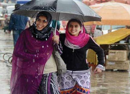Rains Kashmir