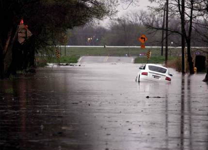 Flash floods, storms to wreak havoc over South Central US this weekend