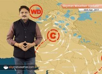 Weather Forecast for April 26: Dust storm in Northwest India, flood threat in Northeast