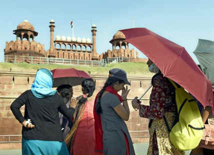 Delhi hot days, rain in Delhi