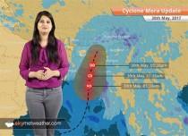 Cyclone Mora makes landfall over Bangladesh, rains in Kolkata, Northeast India