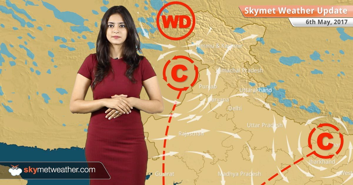 Weather Forecast For May 6 Rain Dust Storm In Rajasthan