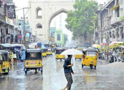 Pre Monsoon rain to visit Hyderabad, pleasant evening in offing