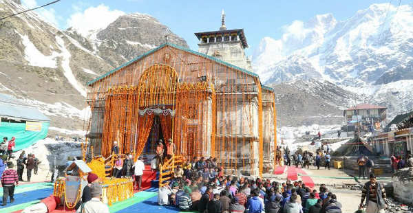 Rain in Kedarnath and Badrinath while dry and hot weather ...