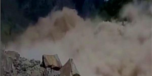 Landslide in Badrinath