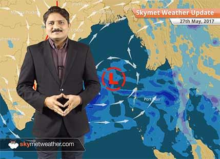 27 मई के लिए मौसम पूर्वानुमान: उत्तर प्रदेश, बिहार, झारखंड में वर्षा; मध्य प्रदेश में चलेगी लू..