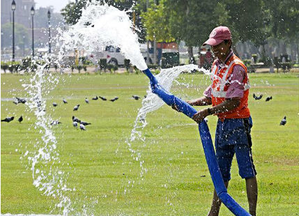 Summers in Delhi