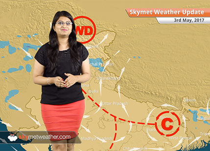 Weather Forecast for May 3: Rain in Bengaluru, Delhi; dust storm in Rajasthan