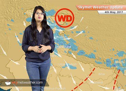 Weather Forecast for May 4: Dust storm, thunderstorm in Delhi; rain in Tamil Nadu, Kerala