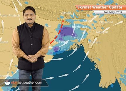 Weather Forecast for May 2: Rain in Bihar, Jharkhand, dry and hot weather in Delhi