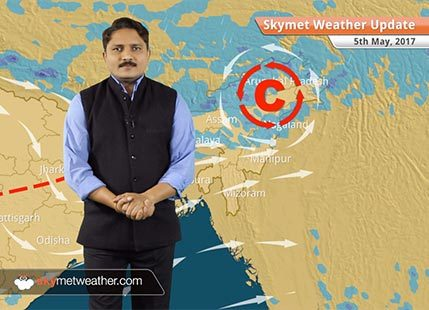 Weather Forecast for May 5: Warm weather in Delhi, Haryana; Rain in Kashmir, Himachal