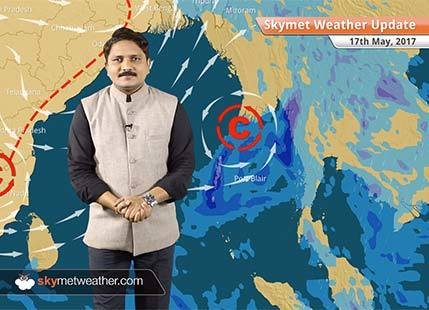 Weather Forecast for May 17: Monsoon covers Andaman, to make onset in Kerala by May 29