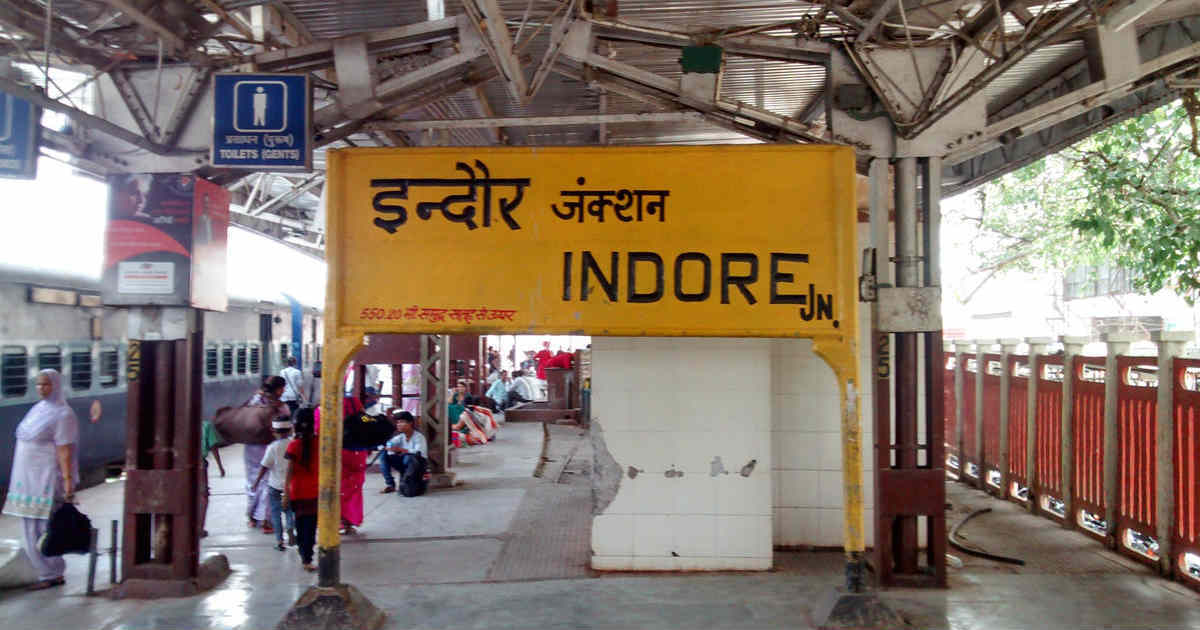 Rain in Indore