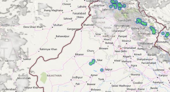 lightning and thunderstorm in delhi (2)