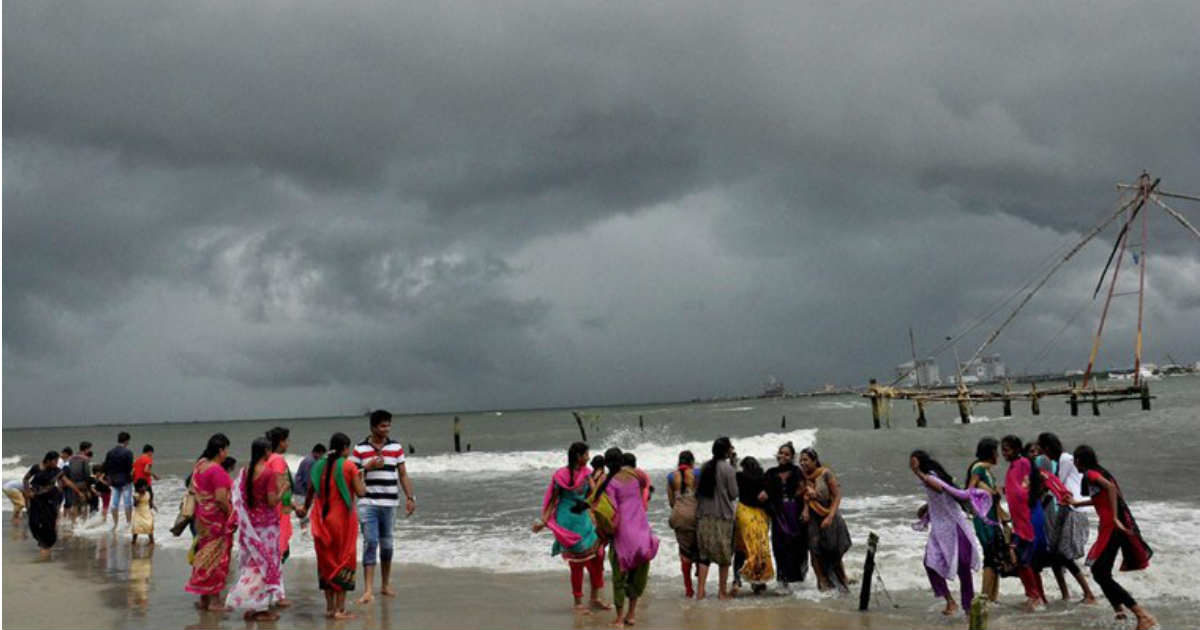 Southwest Monsoon 2017 Makes Onset Over Kerala Northeast