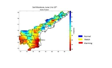 Kharif crop sowing in Andhra Pradesh down by 25% despite good Monsoon rains