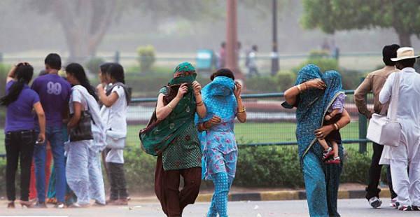 Delhi Dust storm