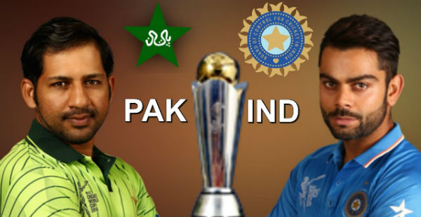 ICC Champions Trophy 2017 Ind Vs Pak_YouTube 600