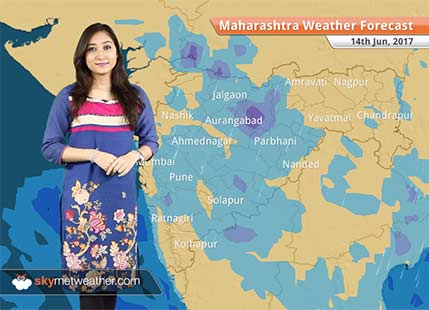 Maharashtra Weather Forecast for Jun 14: Monsoon rains to continue in Mumbai, Pune, Nasik, Parbhani, Kolhapur, Sholapur, Sangli