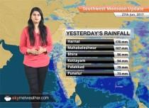 Monsoon Forecast for Jun 28, 2017: Heavy Monsoon rains in Mumbai, parts of Konkan and Goa