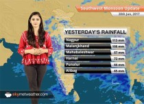 Monsoon Forecast for Jun 29, 2017: Heavy rains in Mumbai, Goa, Kerala; Monsoon to hit Delhi