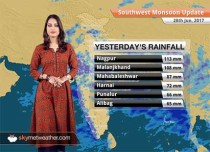 Monsoon Forecast for Jun 29, 2017: Monsoon to hit Delhi; cover Madhya Pradesh, Bihar, Uttar Pradesh