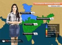 Monsoon Forecast for Jun 24, 2017: Patna, Mumbai to witness more Monsoon rains