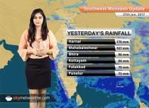 Monsoon Forecast for Jun 28, 2017: Monsoon to cover more parts of Bihar, Madhya Pradesh, Uttar Pradesh