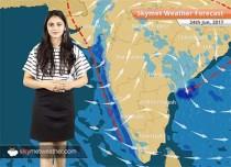 Weather Forecast for Jun 24: Good Monsoon rains likely in Mumbai, Kerala, Goa, Bihar