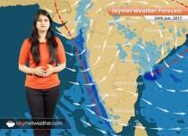 Weather Forecast for Jun 24: Rainfall of eastern Uttar Pradesh, Bihar and northeast states