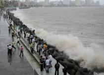 Showers in Mumbai