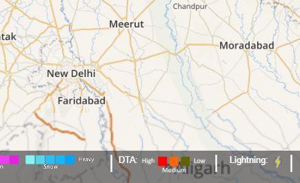 delhi light