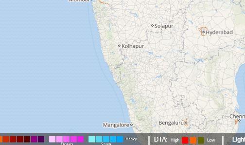 Good showers to continue over Coastal Karnataka, rains to reduce over Kerala
